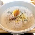 神保町 kururi - スープは泡立てられての提供