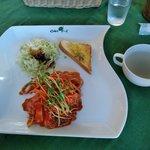 Kamuon - ナポリタン(サラダ,スープ付き)
