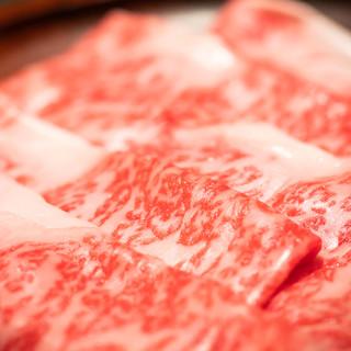 その日一番のA5ランクの肉を、お召し上がりください。
