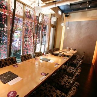【個室テーブル席】宴会、飲み会に最適!2〜15名個室をご用意