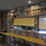 リゾネッチャヴィラ レストラン - カウンター席