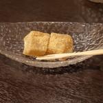 ごま料理 蔵馬 - 鞍馬コース:デザート
