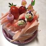 ふるらーじゅ - 料理写真:ミニひなデコ