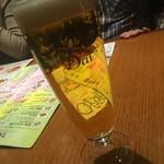 アジアンビストロDai - 乾杯ビール!