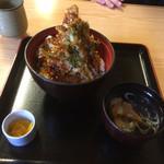 食事処 寿 - ランチCヒメマス丼全景