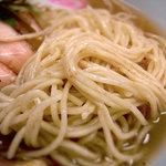 らぁ麺 汁八番 - 鶏塩チャーシュー塩らぁ麺