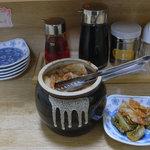 ラーメン 大和 - キムチは無料です