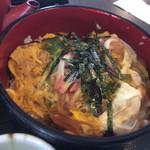 手打ちそば 福松 - セットの親子丼