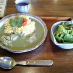 ごはん屋 カカ - 料理写真:気まぐれカレーランチ(グリーン)