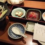 和食れすとらん天狗 - 「極みコース」のお料理(の一部)です