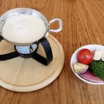 CHEESE KITCHEN RACLER - チーズフォンデュサラダ
