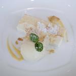 CHEESE KITCHEN RACLER - ベイクド&レアチーズケーキ、バニラアイス