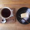 ひやわま - 料理写真:浅煎コーヒー、白いチーズケーキ¥480