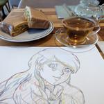 カフェ・ヒルバレー - 料理写真:ナラティブ見てきた~☆