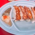 山岡家山形西田店 - 餃子