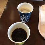 103138860 - コーヒーはベンダーで購入。