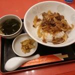 レストハウス・キング - 焼肉丼【2019.2】