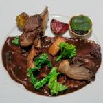 レストラン コバヤシ - 2019.3 フランス産青首鴨のロースト ソースサルミ(内臓風味の赤ワインソース)