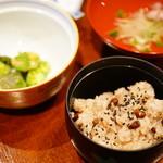 103144635 - 鶴 (¥4,000) 吸物、煮物、御飯
