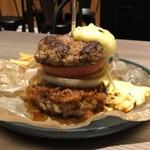 スリープレイス - 肉チーズバーガー