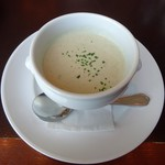 103146081 - ランチ:牛蒡のクリームスープ