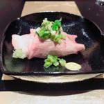 野嵯和 - ⑩タラの芽の天麩羅の牛肉巻き