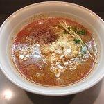担々厨房 平家 - 『担々麺』750円 ランチタイムにはご飯が付きます。