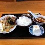 大一楼 - 野菜炒め定食