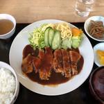 あさり浜 - ポークチャップ定食