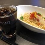 タリーズコーヒー - パスタセット(990円税込)