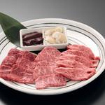長春館 - 焼肉5品盛合