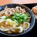 こがね製麺所 - 料理写真:肉うどん