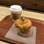 コーヒースタンド 36℃ - シュークリームのセット(500円)
