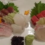 茂治 - 刺身盛り合わせ(5種)