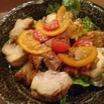茂治 - チキンのオレンジ煮