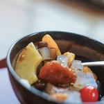 """舟和 - """"蜜豆(みちまめ)""""に黑蜜(くろみち)#BCMKR! ©ドクシマぱいせん"""