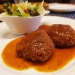 フランス食堂 キリギリス - カニクリームコロッケ