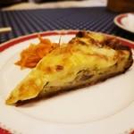 フランス食堂 キリギリス - マッシュルームのキッシュ