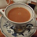 西洋茶館 - ブレンドコーヒー(砂糖・ミルク入り)