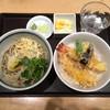ソバキチ - 料理写真:海老天丼セット