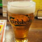 ビトレス プリュス - 生ビールはカールスバーグ