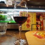 ビトレス プリュス - パルマ産切り立て生ハムと季節のフルーツ & グラスワイン