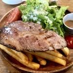 森のブッチャーズ - ローストポーク850円 お肉は180g