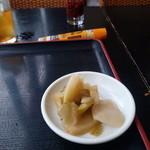 アジア料理 菜心 - ザーサイ