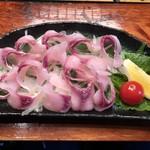 103170046 - 鯉の洗いはさっぱり酢味噌で美味い。