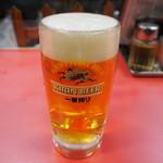 宝来亭 - 生ビール