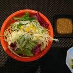 ステーキ せんだ - 野菜サラダ