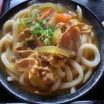 上野製麺所 - カレーうどん(中)