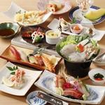 奴寿司 - 料理写真:季節の旬の食材を使用した宴会プランは、様々な用途に利用可能