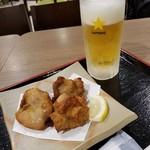 つけ蕎麦 えび福 - 選べるおつまみセット 540円